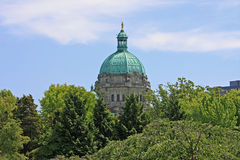 British Columbia Parliament Building Royalty Free Stock Images