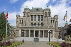 British Columbia Parliament Building Stock Photography
