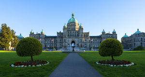 British Columbia Parliament Building Royalty Free Stock Photos