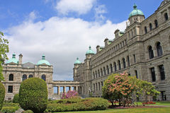 British Columbia Parliament Building Royalty Free Stock Photo