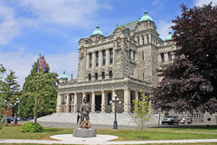 British Columbia Parliament Building Royalty Free Stock Image
