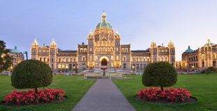 British Columbia Parliament Buildings Stock Images