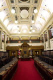 British Columbia Parliament Buildings interiors Stock Photos
