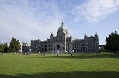 British Columbia Parliament Buildings Stock Photography