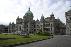 British Columbia Parliament Buildings Royalty Free Stock Photos