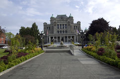 British Columbia Parliament Buildings Royalty Free Stock Photography