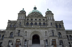 British Columbia Parliament Buildings Royalty Free Stock Photo