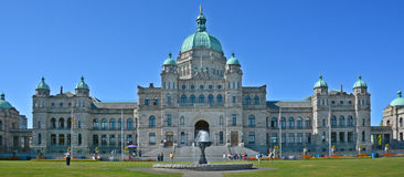 The British Columbia Parliament Buildings Stock Image