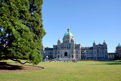The British Columbia Parliament Buildings Stock Images