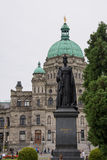 The British Columbia Parliament Buildings, Victoria, Canada royalty free stock photography
