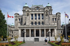 British Columbia provincial Parliament Building Royalty Free Stock Images