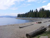 Vancouver British Columbia Rocky Mountains royalty free stock photography