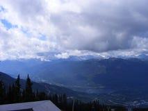 Whistler British Columbia Rocky Mountains stock photo