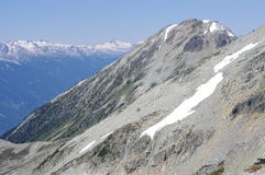 British Columbia's Coastal mountain ranges Stock Photo