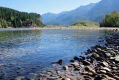 British Columbia's Fraser River Royalty Free Stock Images
