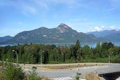 British Columbia, Scenic Highway Royalty Free Stock Photo