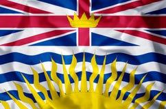 British Columbia vector illustration