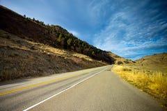 British Columbia Highway Scenic Drive Stock Images
