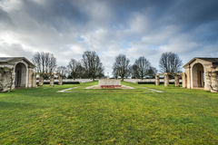British and Commonwealth War Cemetery in Bayeux,France Royalty Free Stock Photography