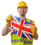 British construction Stock Image
