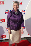 The British Consul General Dame Barbara Hay arrives at the GREAT British Film Reception Royalty Free Stock Photo