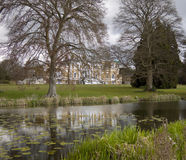 British country house stock image