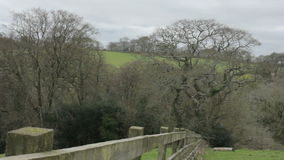 British Countryside Landscape in Cornwall England stock video footage