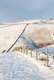 British countryside in winter Stock Images