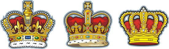 British crown vector illustration