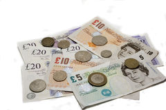 British currency stock photography