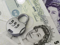 British currency concept Stock Photo