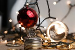 One pound coin Royalty Free Stock Photography