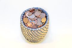 British currency penny Stock Images