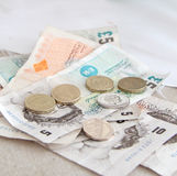 British Currency Royalty Free Stock Photos