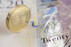 British Currency Royalty Free Stock Photo