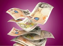 British Currency Royalty Free Stock Images