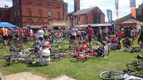 British cycling national championships Royalty Free Stock Image