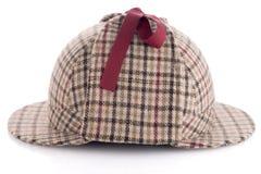 British Deerhunter or Sherlock Holmes cap Royalty Free Stock Images