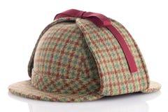 British Deerhunter or Sherlock Holmes cap Stock Images