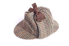 British Deerstalker or Sherlock Holmes cap Stock Photo