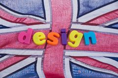 British design: possible logo. Royalty Free Stock Photography