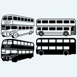 British double-decker bus Royalty Free Stock Images
