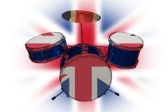 British Drum vector illustration