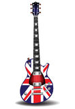 British electric guitar Stock Image