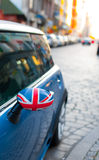 British emblem on car Stock Photo