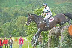 British Entry: International Horse Trials 2011. Stock Photos