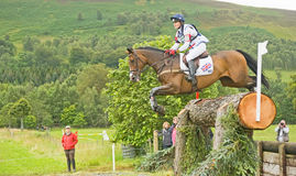 British Entry: International Horse Trials 2011. Royalty Free Stock Image