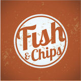 British fast-food - fish and chips Stock Photo
