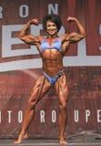 British Female Bodybuilder Shines in Toronto Contest Stock Photos