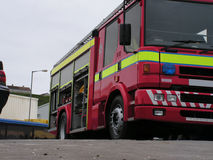 British Fire Engine Royalty Free Stock Photography